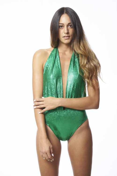 monokini verde